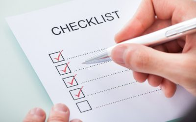 Executors Checklist for Estate Aministration
